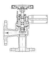 AW 33574 Quick-closing Valve, springloaded, angle pattern, electrical operation